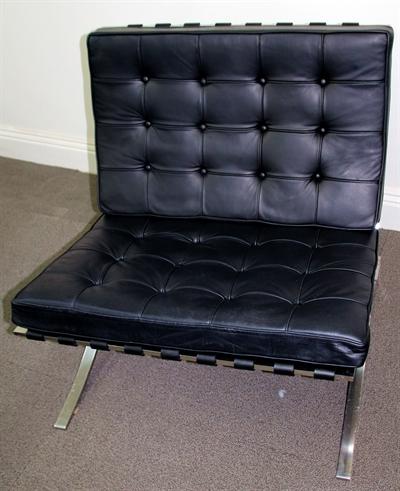 New cushion and leather finishing