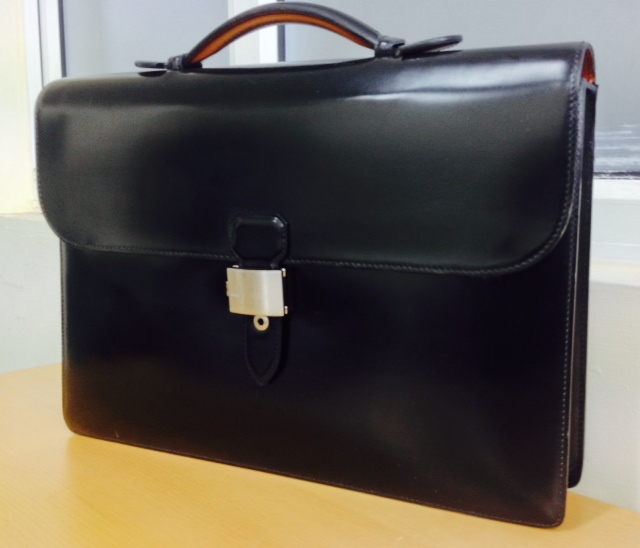 Dunhill Briefcase Restoration The Leather Surgeons