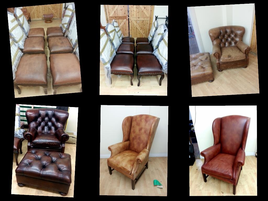 Ralph Lauren Aniline Leather Restoration