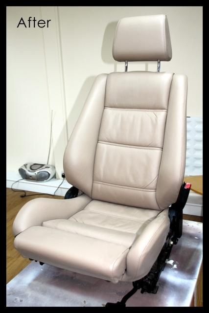 BMW 3 series E36 seat restoration