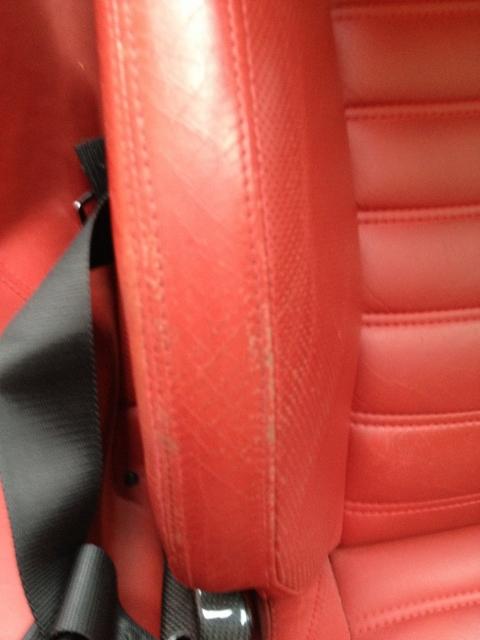 Ferrari 599 GTO before refinishing