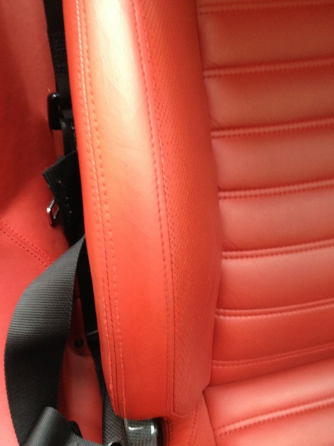 Ferrari 599 GTO After restoration and refinishing