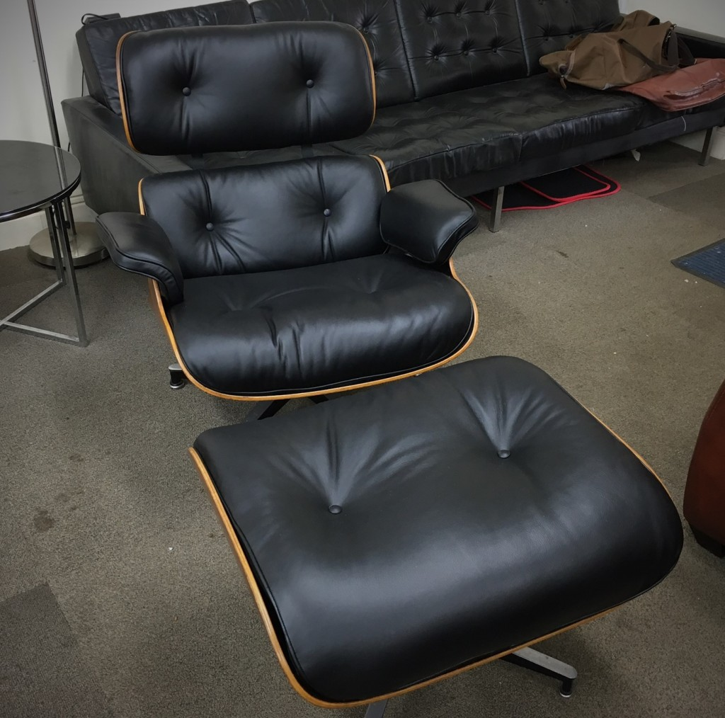 New leather cushions for eames chair