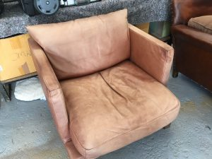 sun faded leather